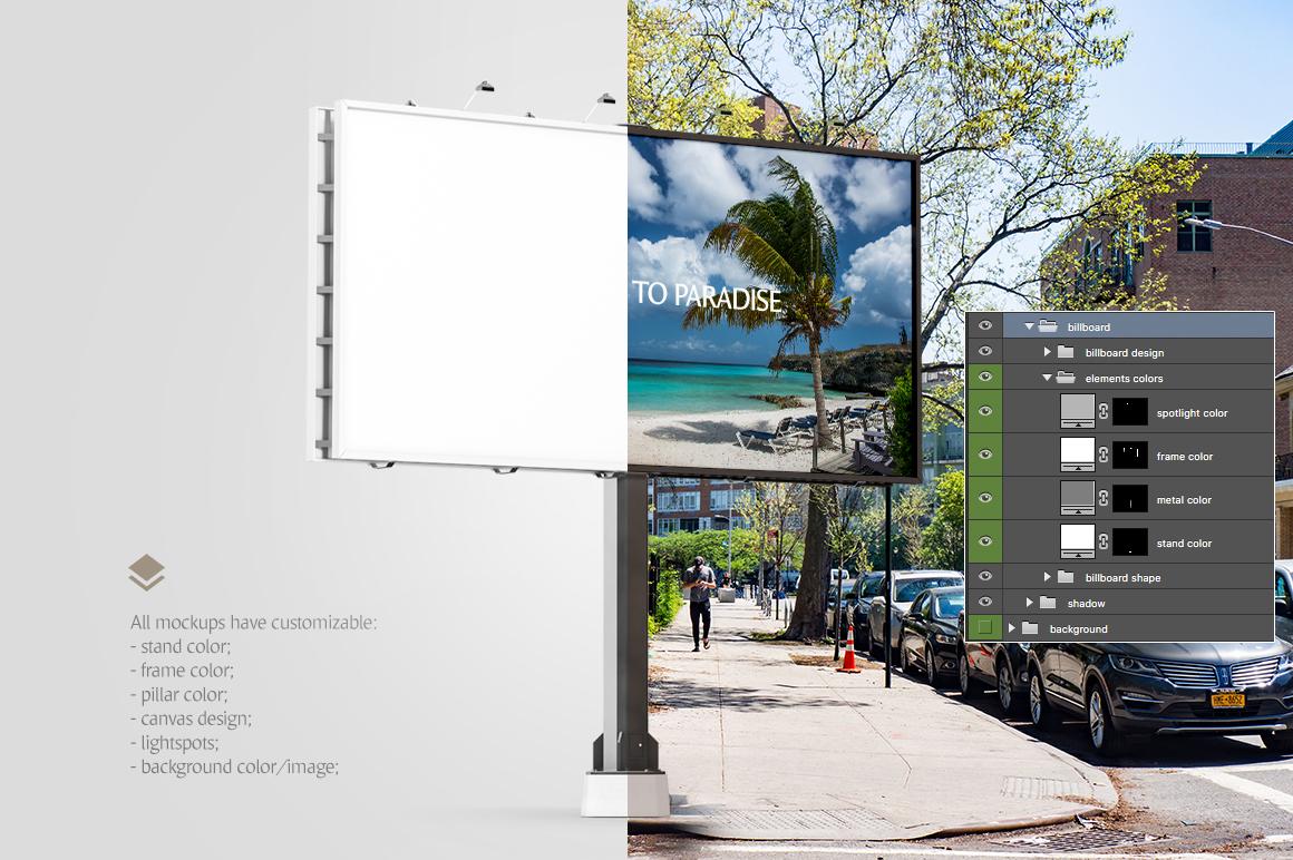Billboard Animated Mockups Bundle example image 5