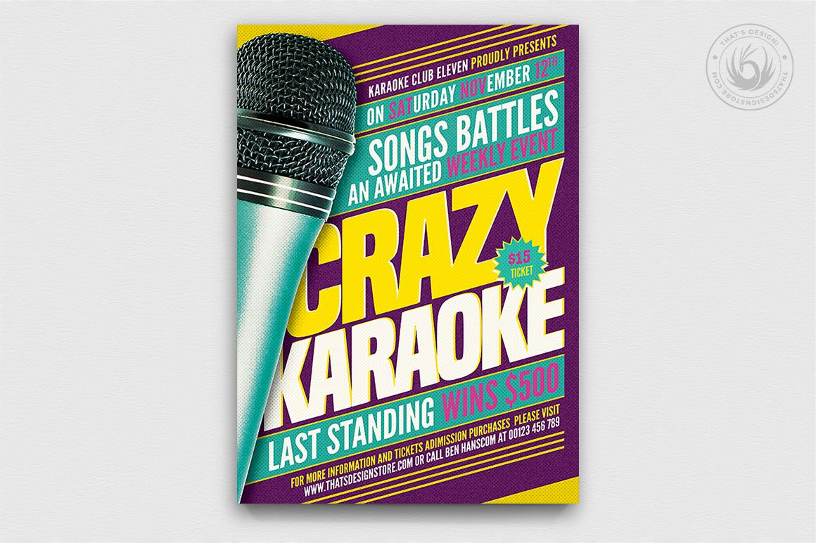 10 Karaoke Flyer Bundle example image 6