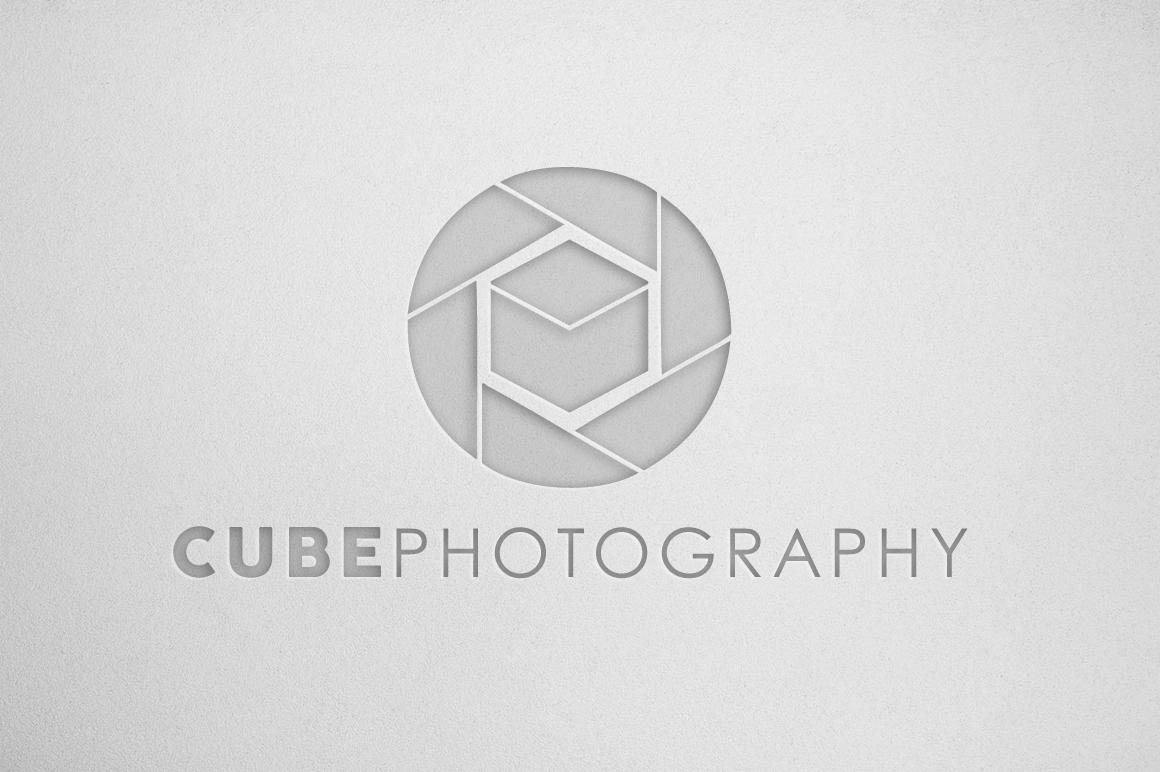 Photography Logo & Bcard Bundle example image 4