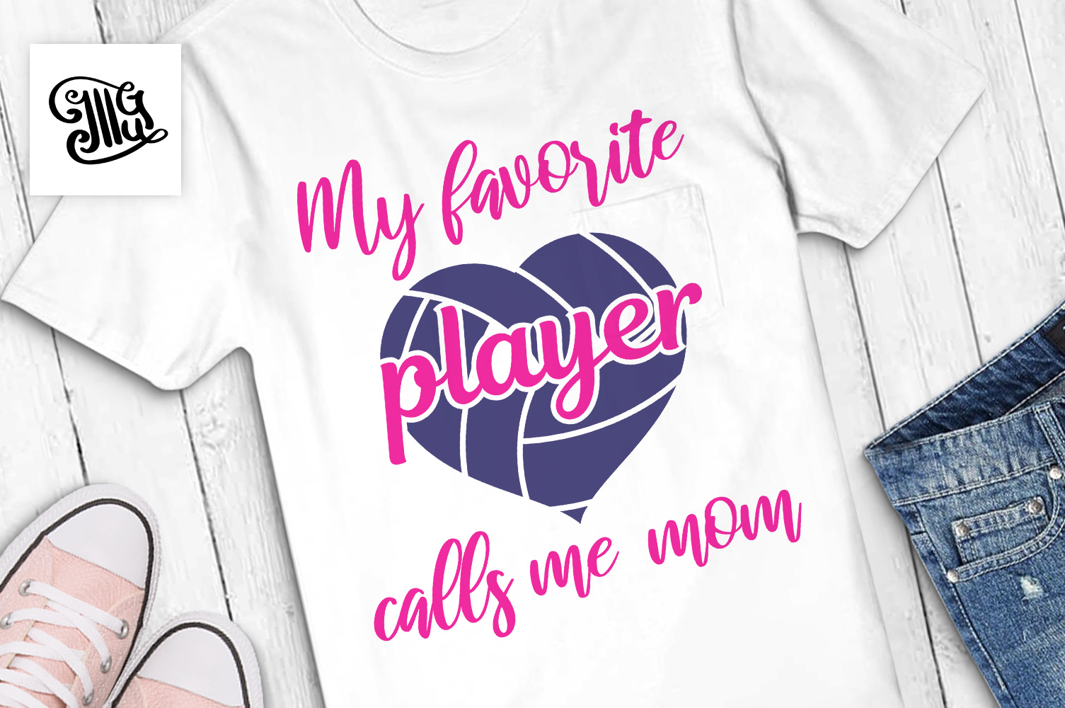 Volleyball svg bundle example image 23