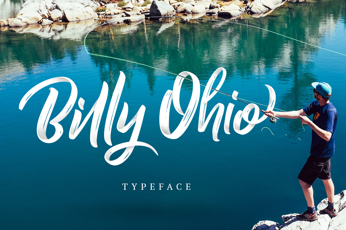 Billy Ohio Typeface example image 1