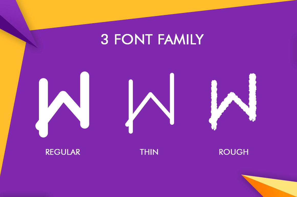 Wolca Display Font Trio example image 8