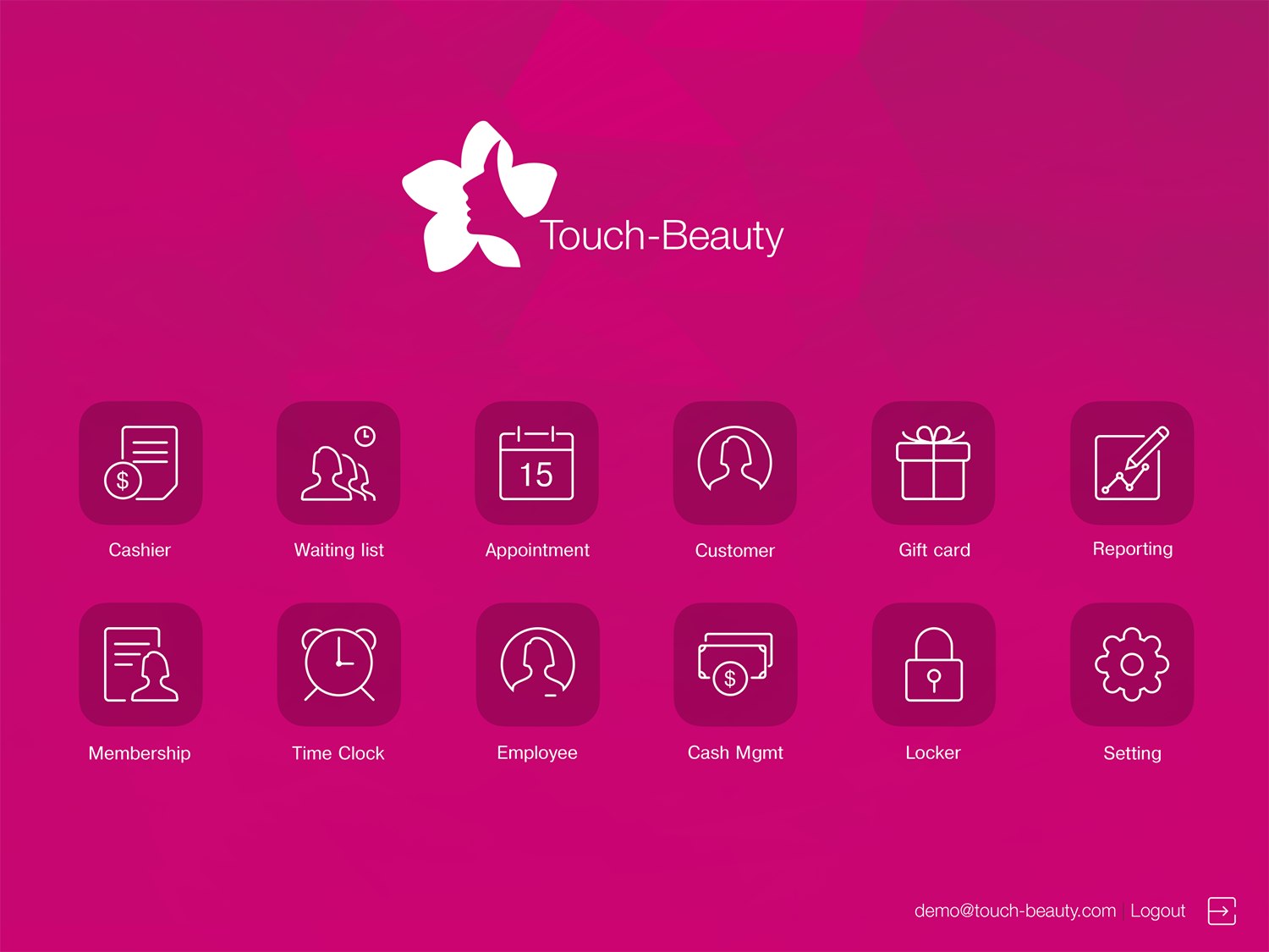 Touch Beauty UI kit example image 7