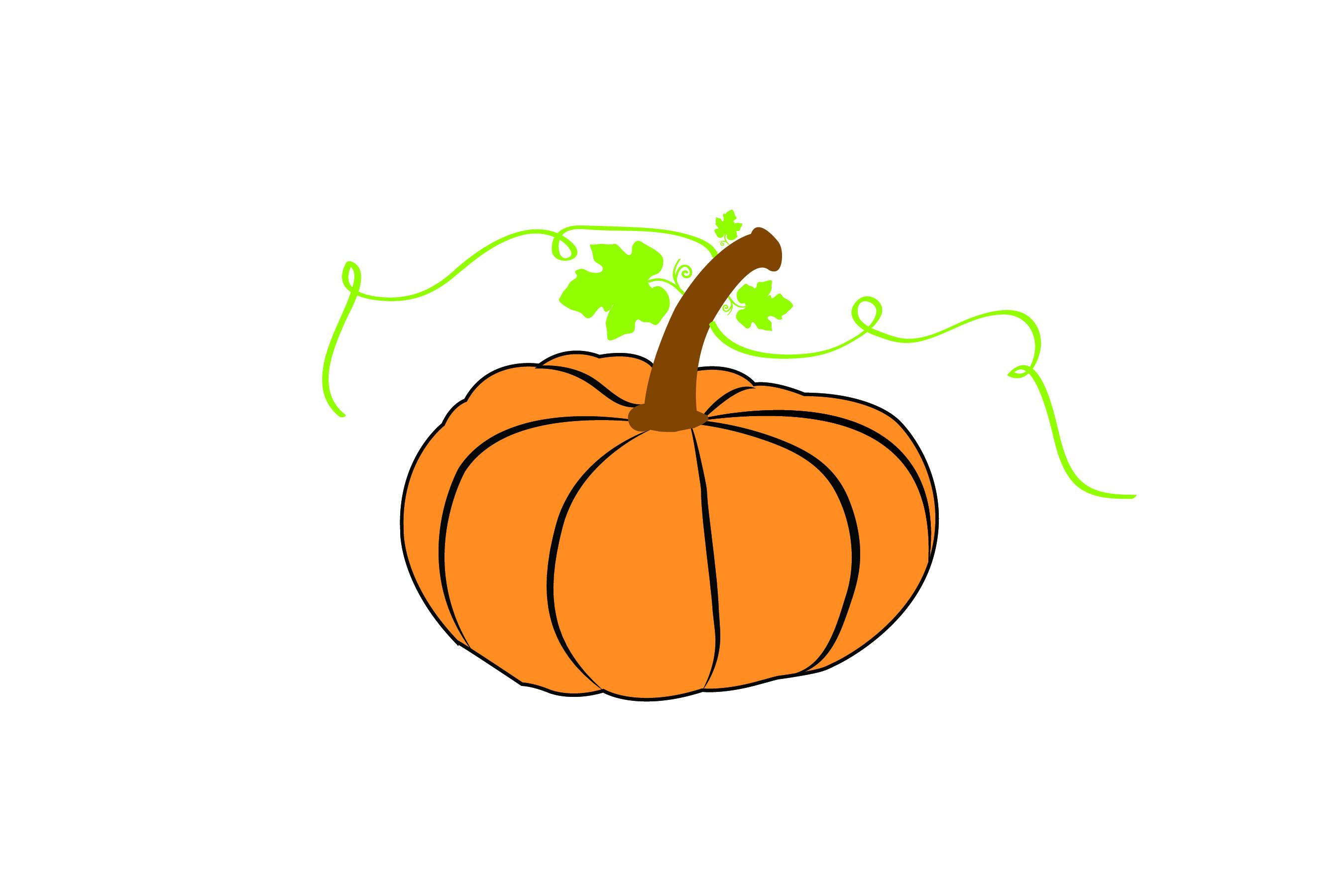 Pumpkin Bundle - SVG cut File - T shirt Deign, Mug Design example image 1