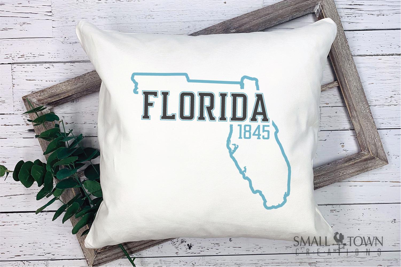 Florida, Sunshine State - slogan, logo, PRINT, CUT & DESIGN example image 9