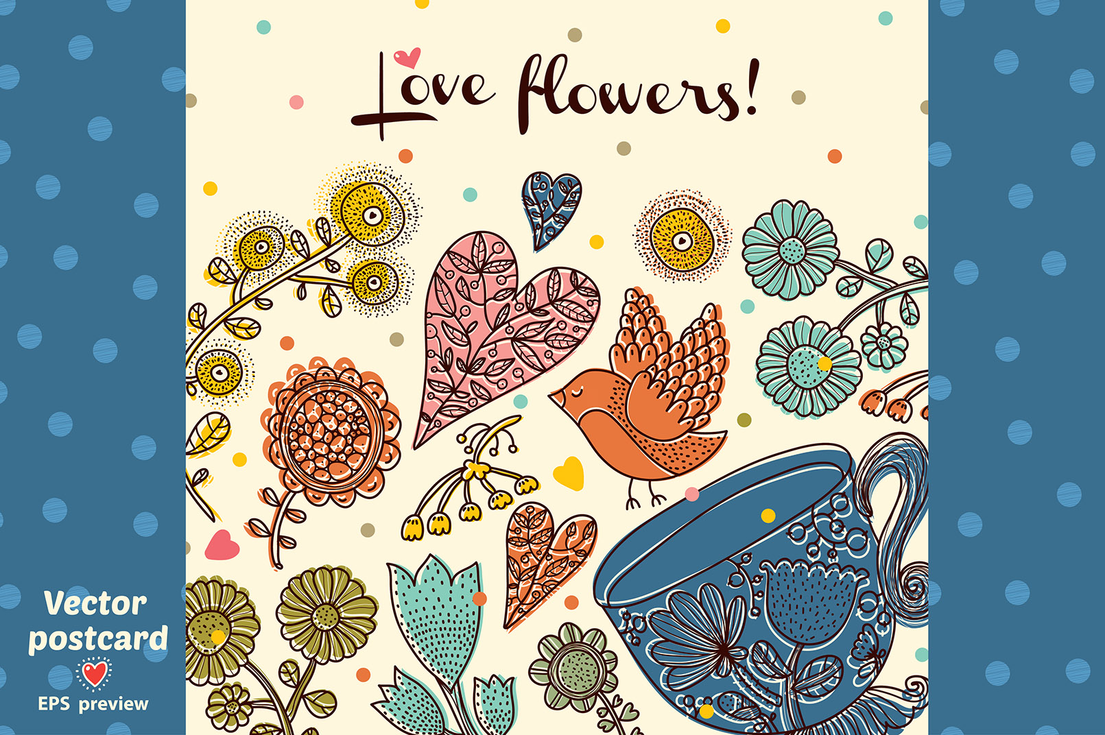 Love flowers. example image 9