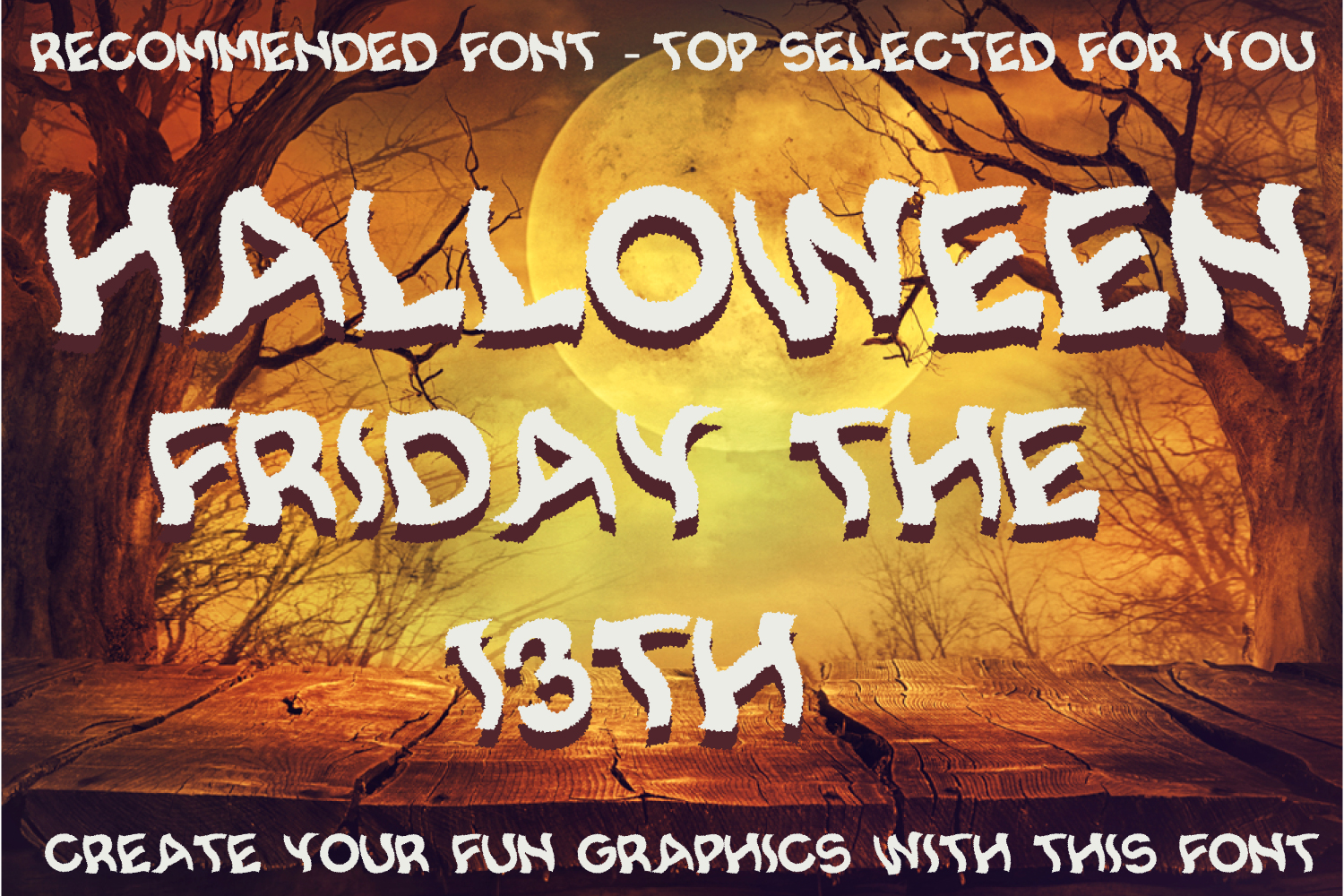 Spooky Smoke - Halloween & Twisted Font example image 3
