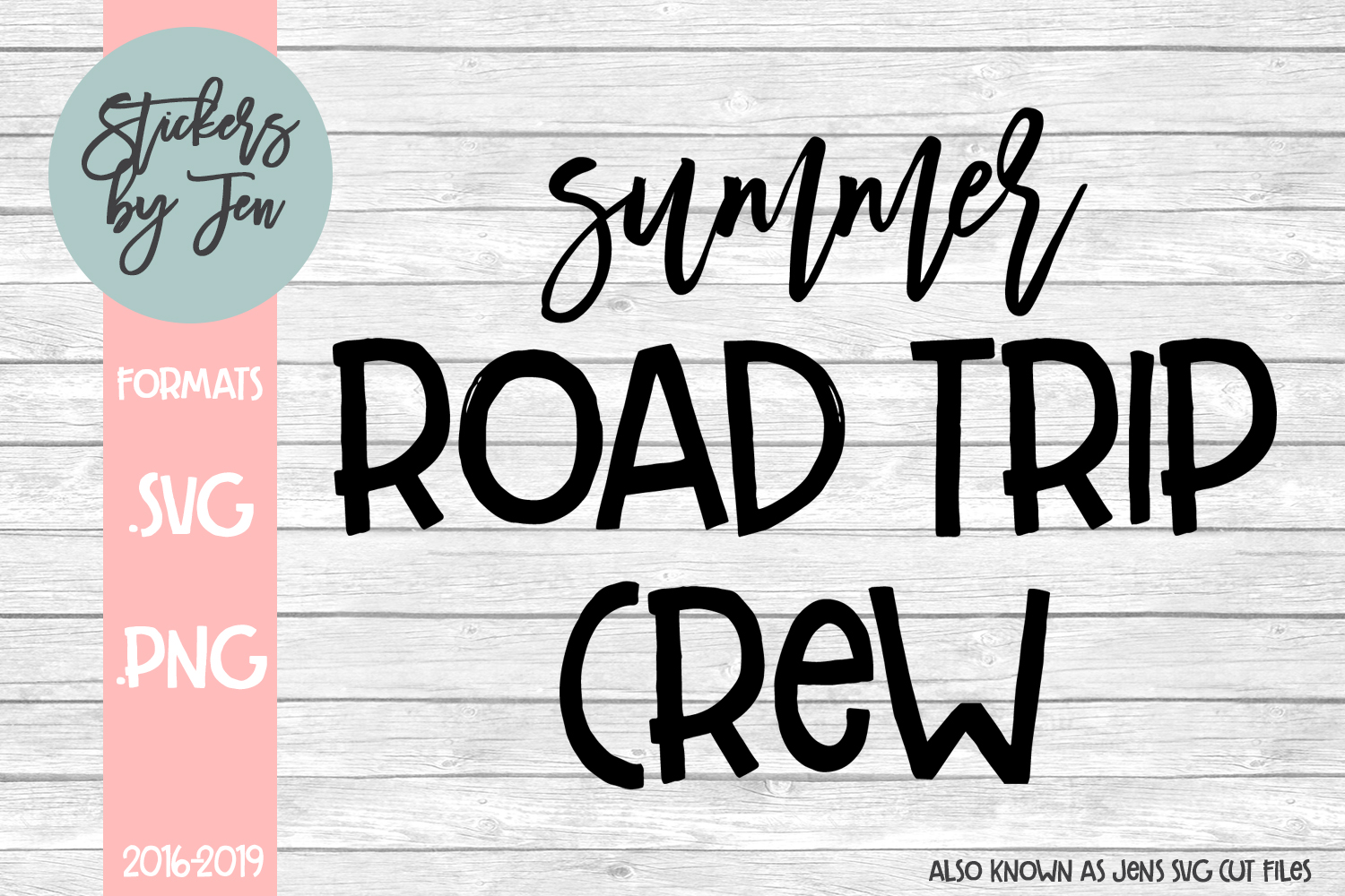 Summer Road Trip Crew svg cut file example image 1