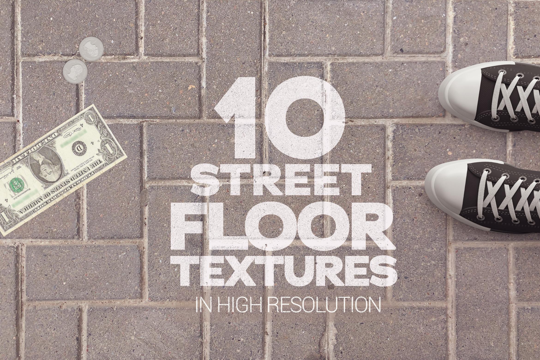 Street Floor Textures x10 example image 1