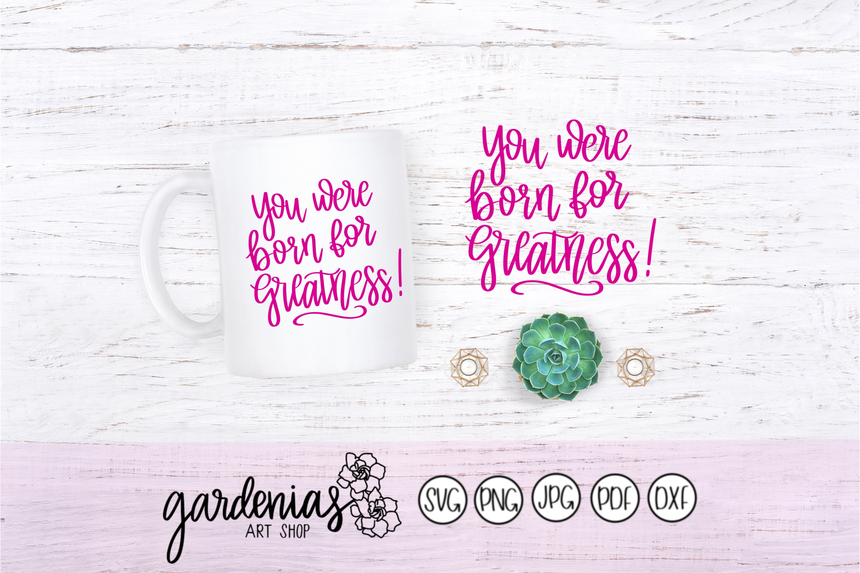 Born for Greatness example image 1