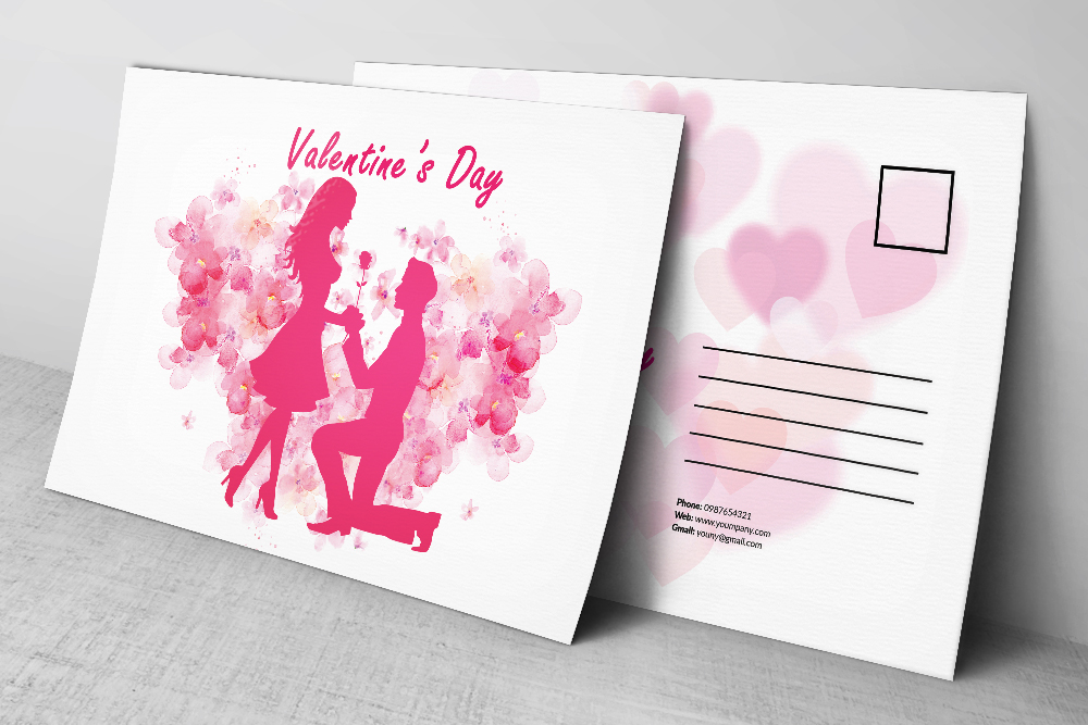 Valentine's Day Postcards example image 2