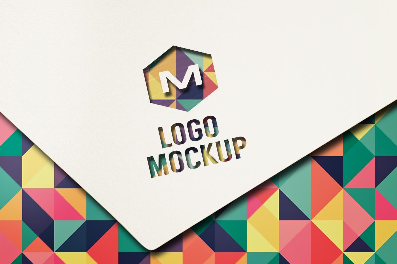 8 logo mockups, 3d wall mock up example image 8