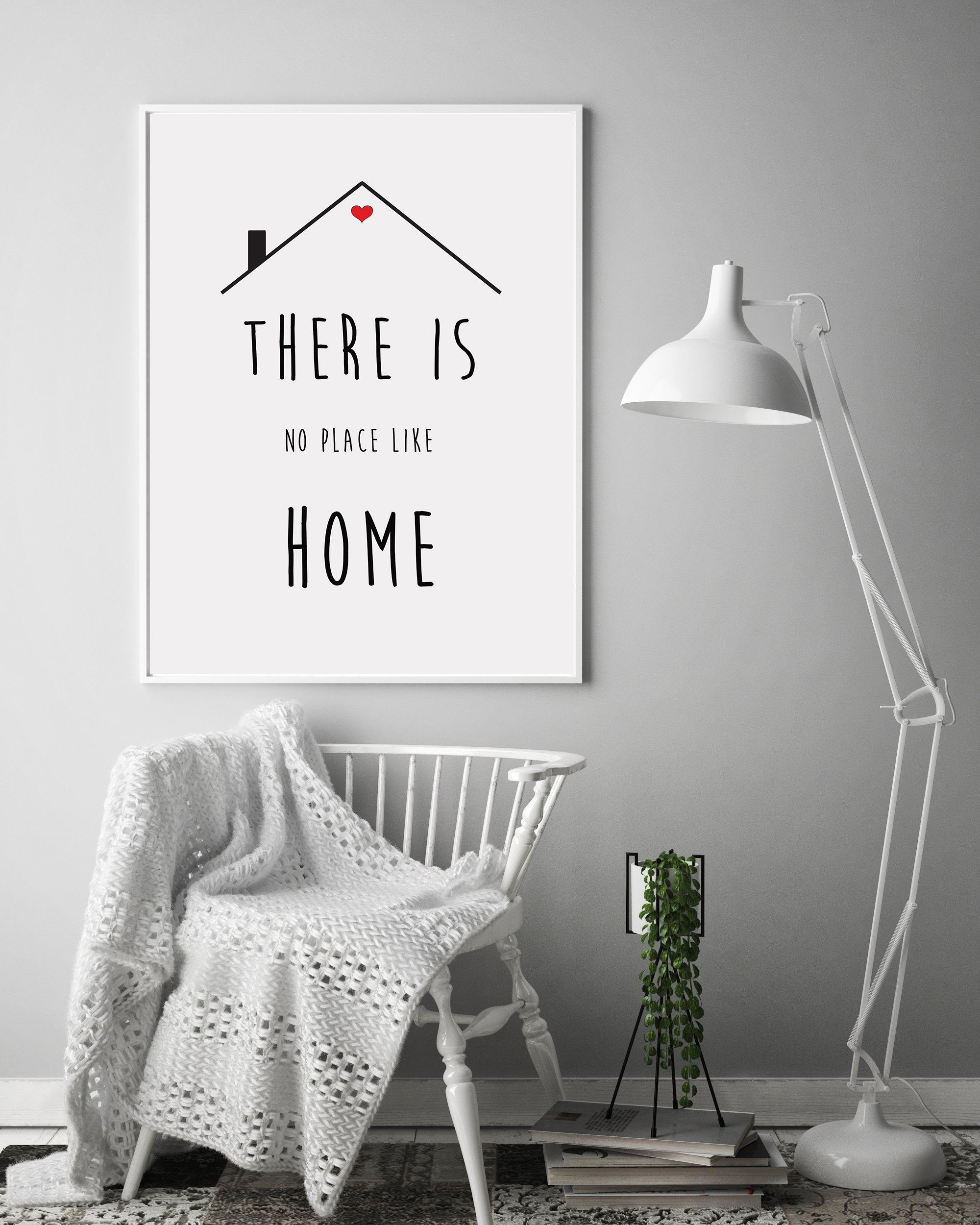 Minimalist Wall Art Quotes, Printable Home Quotes Poster example image 6