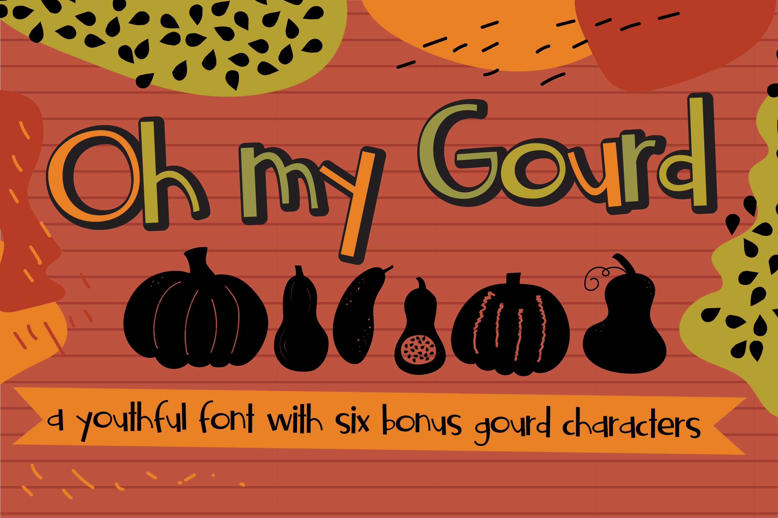 Gobble It Up Font Bundle example image 19