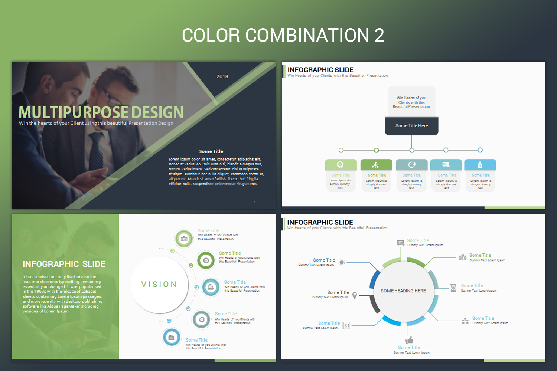 Multipurpose PowerPoint Presentation Template example image 3