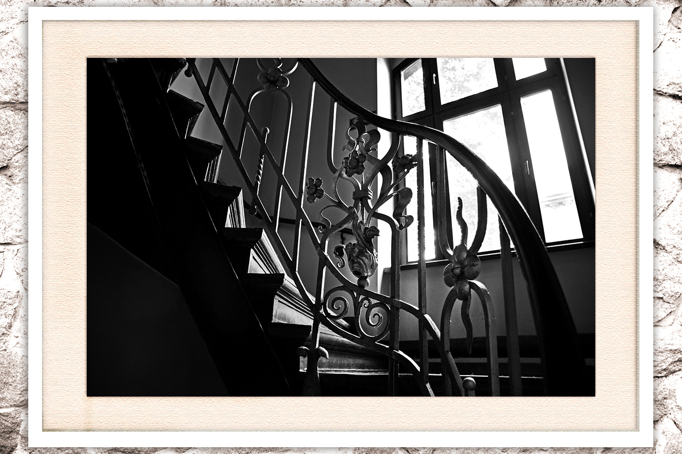 Stairs photo, architecture photo example image 3