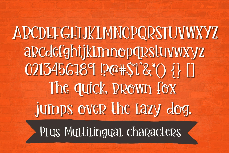 Handwritten Font Bundle - 4 Cut-friendly Fonts example image 11