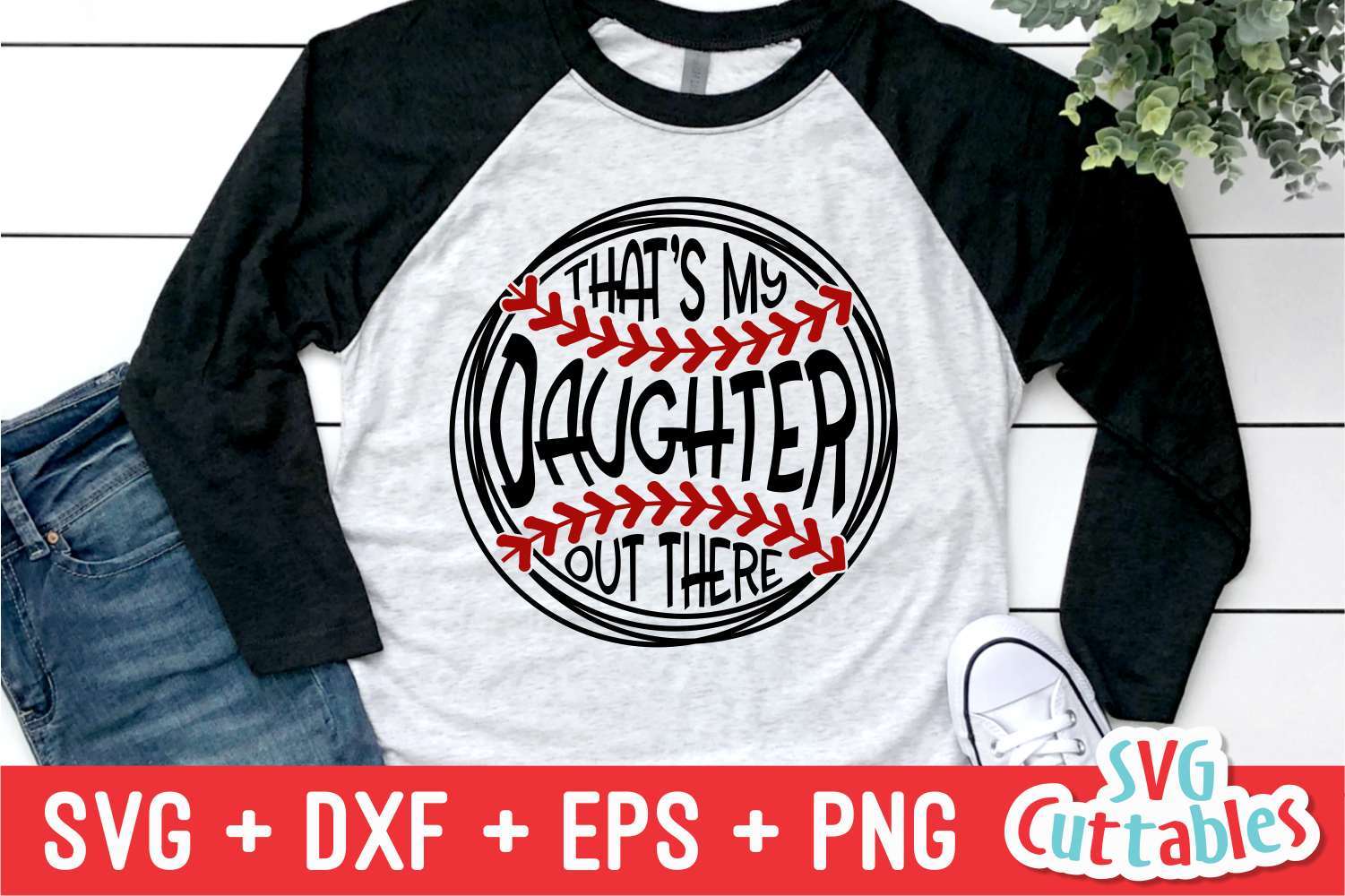 That's My Daughter Out There | Softball | SVG Cut File example image 1