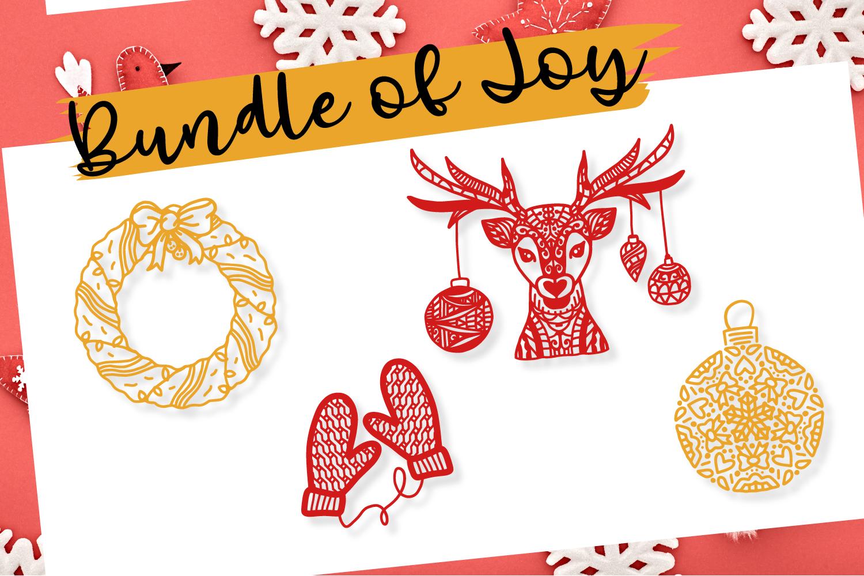 Bundle Of Joy - Christmas SVG Bundle  example image 5