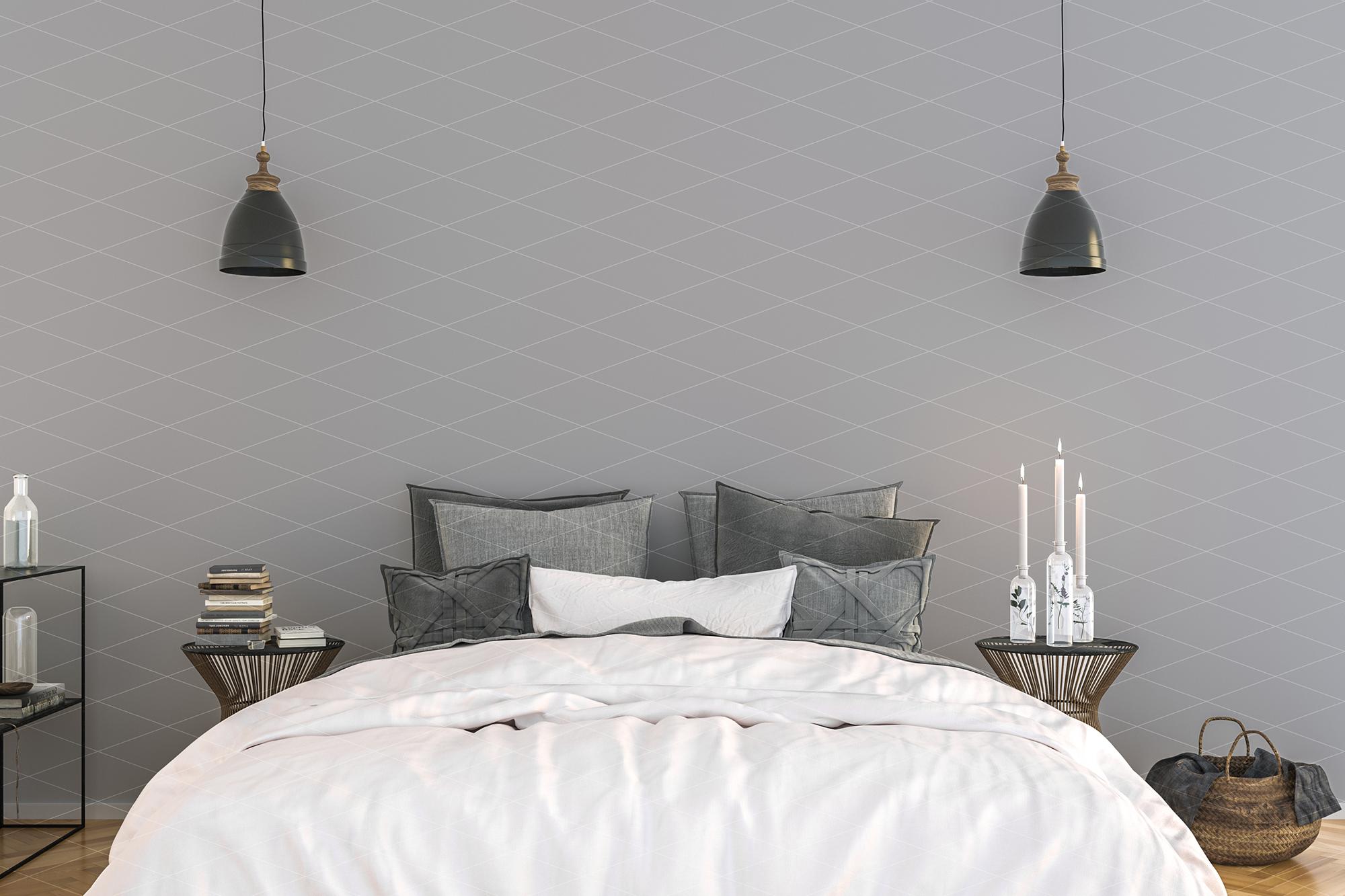 Wall mockup - wallpaper mock up example image 2