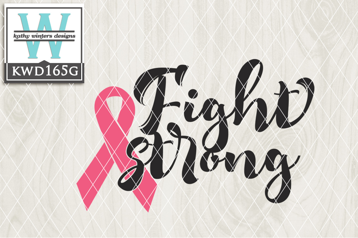 Breast Cancer Awareness Cutting File KWD165G example image 1