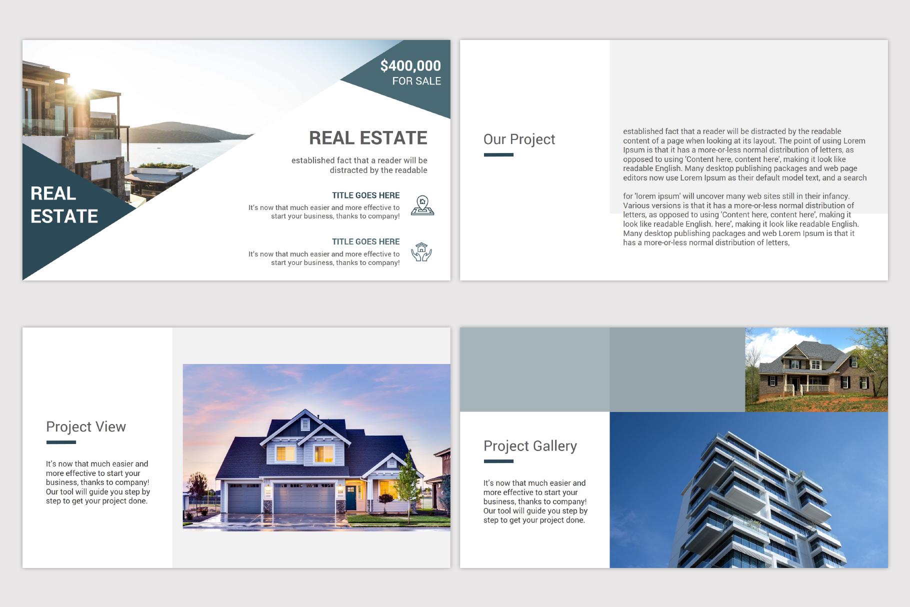 Real Estate Google Slides Template example image 6