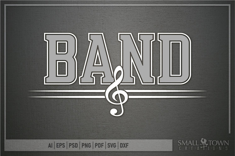 Band, Band logo, Muscial Note, PRINT, CUT & DESIGN example image 5