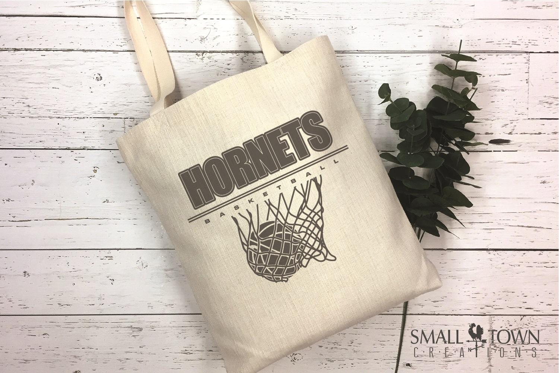 Hornet Basketball, Sport ball, team logo, PRINT, CUT, DESIGN example image 4
