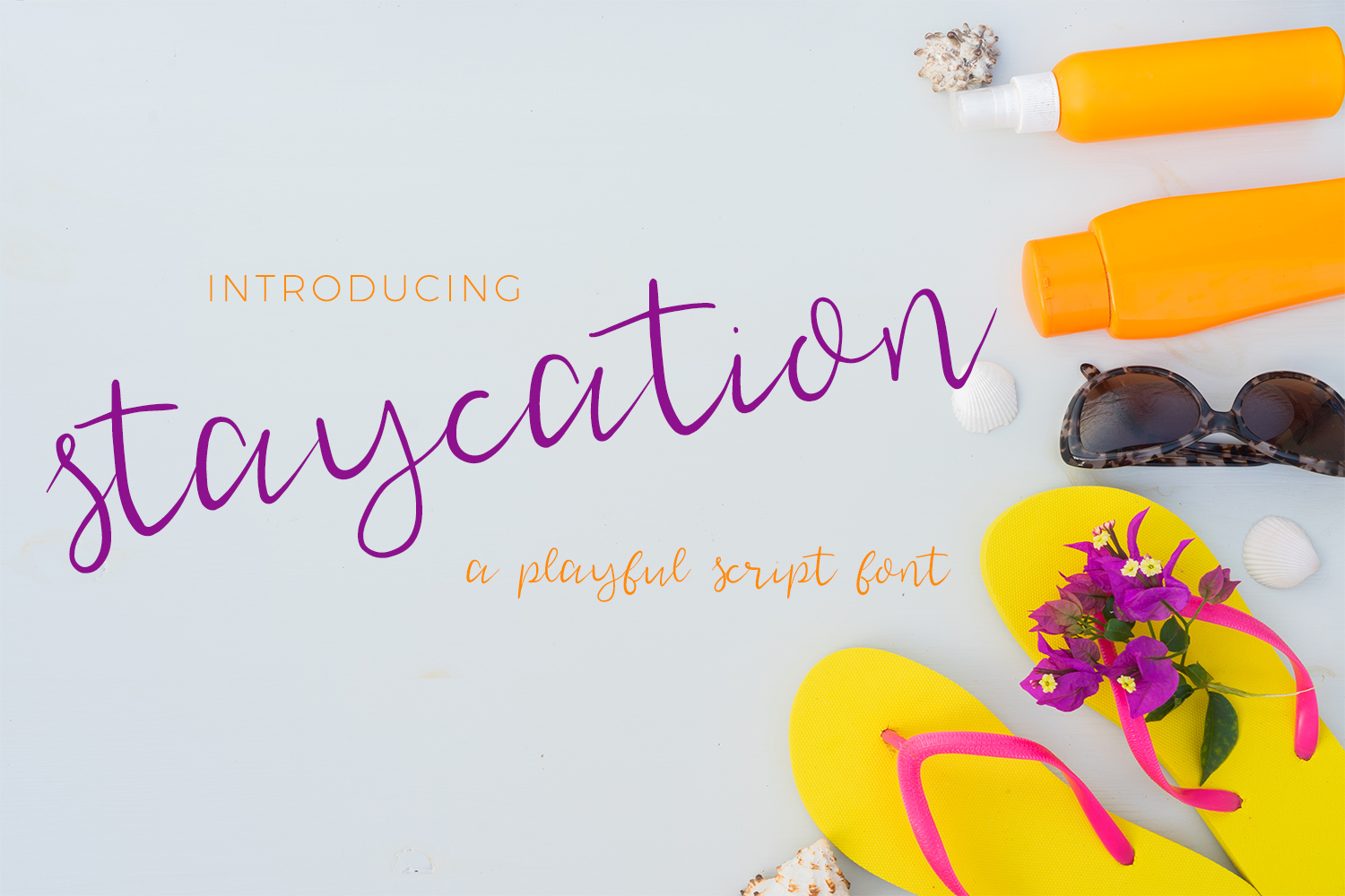 Staycation Script Font example image 1