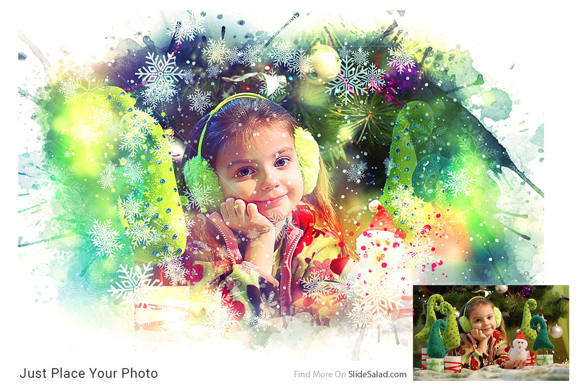 Christmas Photoshop Mock-ups example image 6