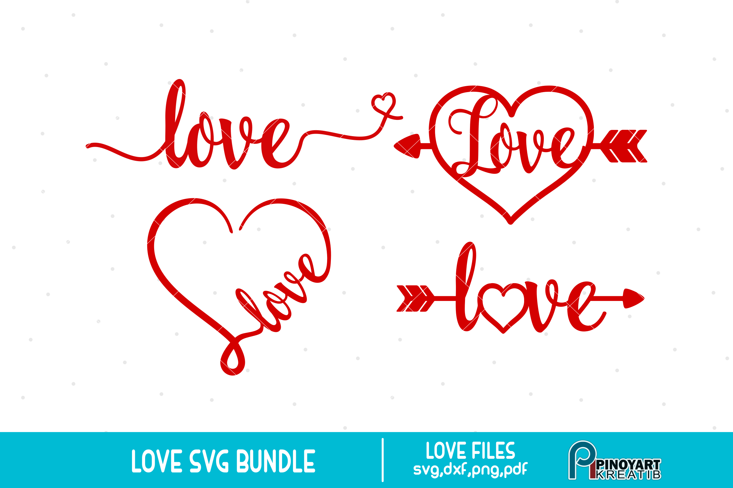 Download Love svg Bundle - love svg vector files