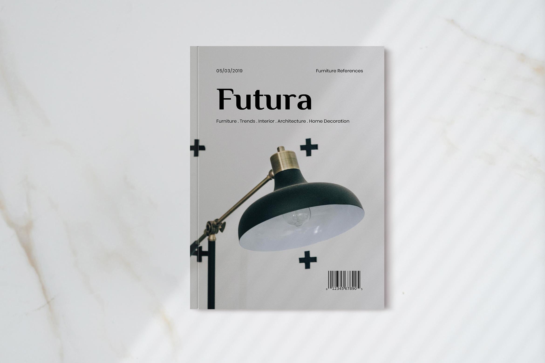 Futura - Interior Magazine Template example image 1