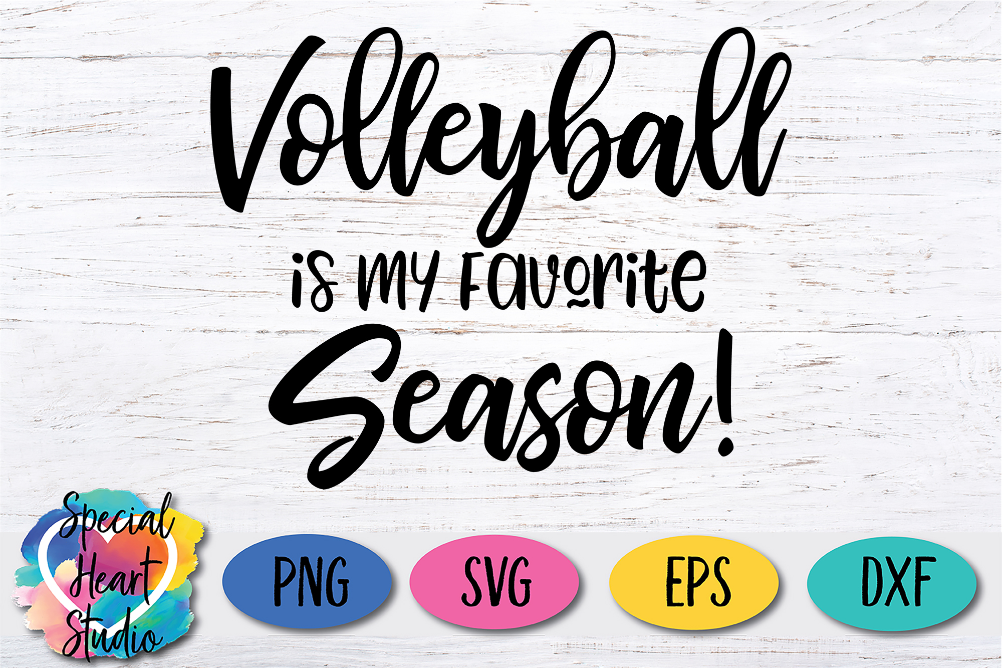 Volleyball is my Favorite Season - A Volleyball SVG Cut File example image 2
