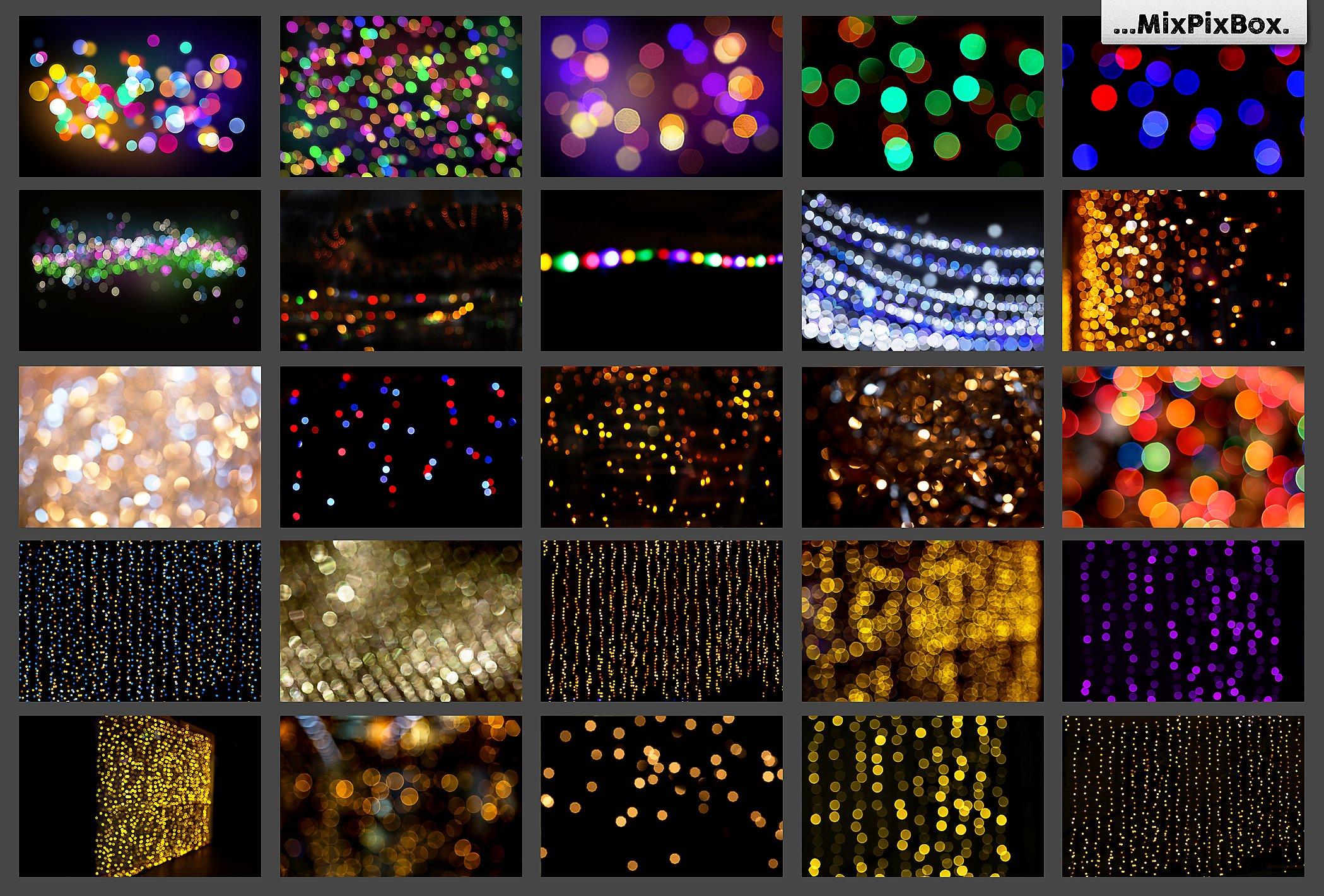 100 Bokeh Photo Overlays example image 5