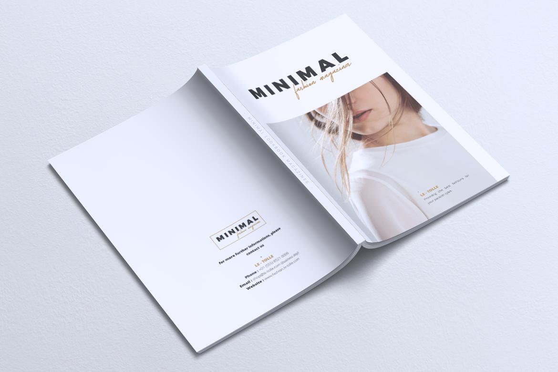 MINIMAL Lookbook Magazines Fashion example image 15