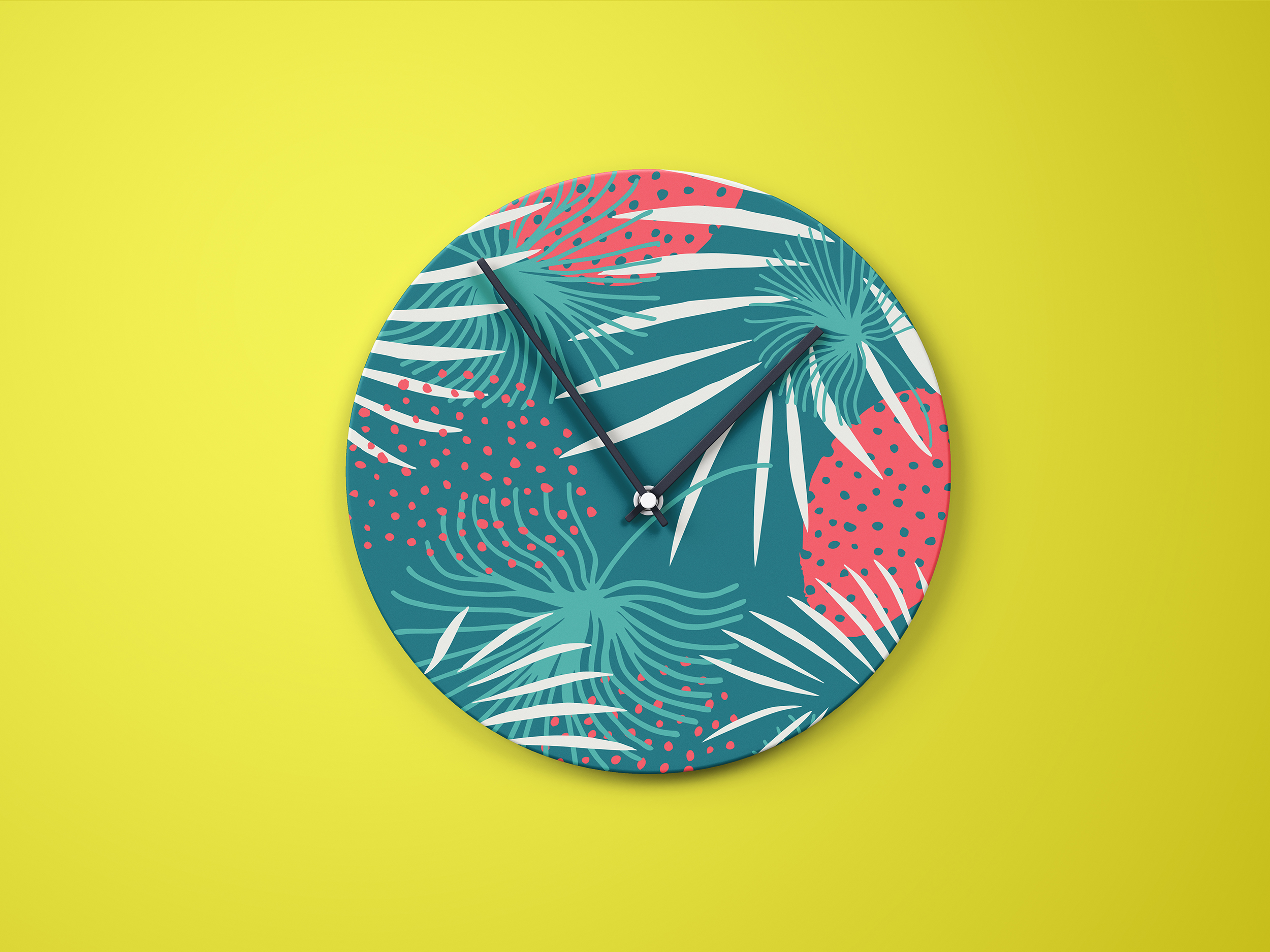 Hide in tropical leaves! Summer hand drawn patterns set example image 5