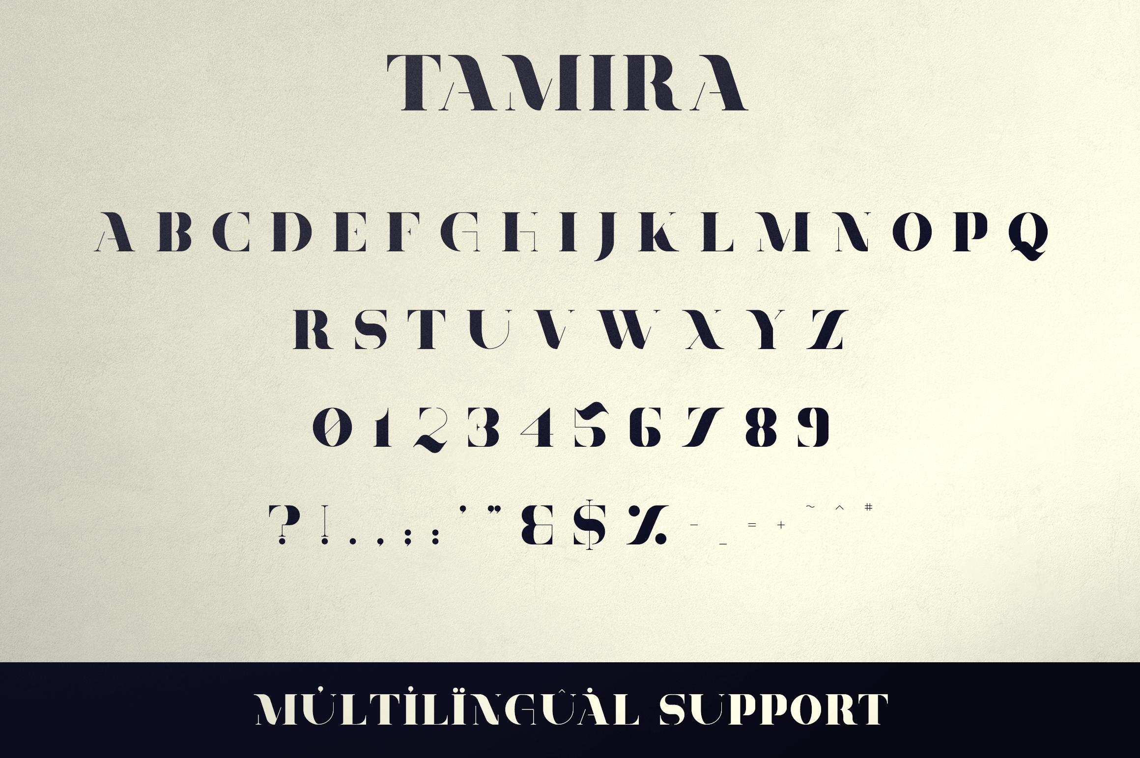 Belinda Tamira - Font duo 20 Logos example image 9