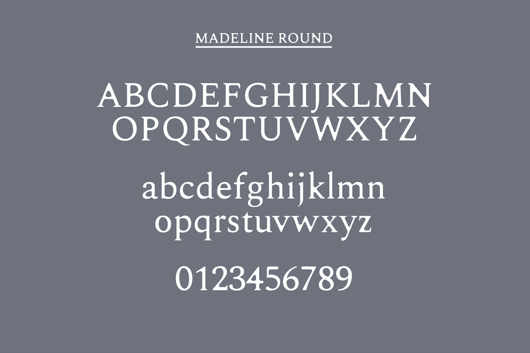 Madelin Serif Font Family Pack example image 9