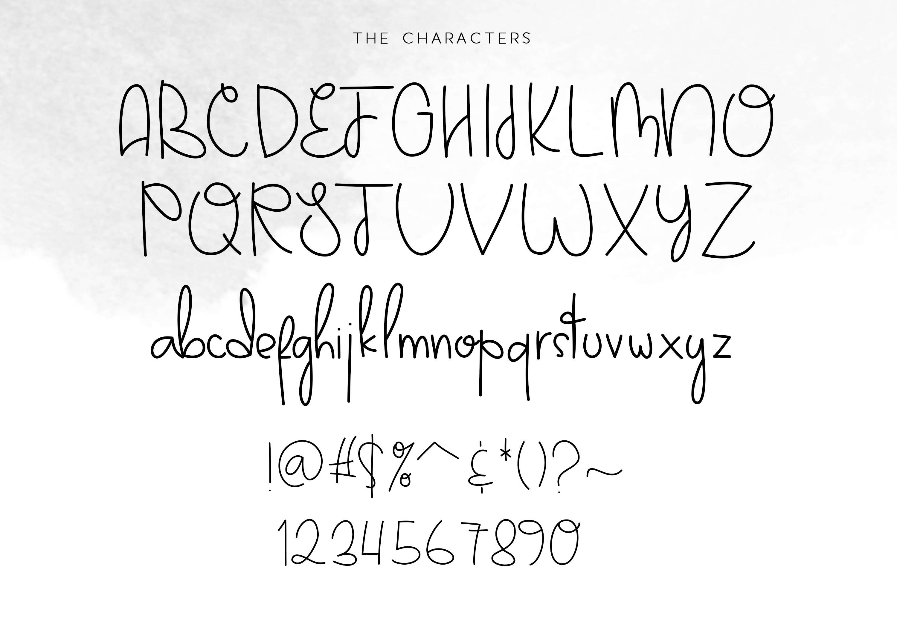 Darlington Park - Unique Handwritten Font example image 6