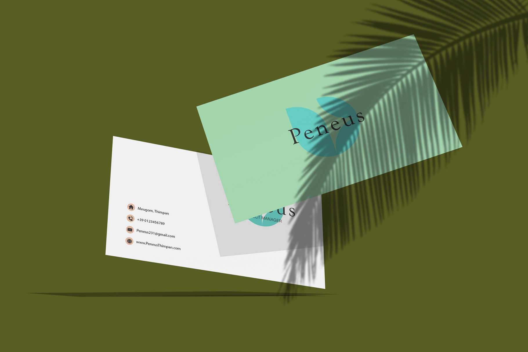 Businesscard Mockups example image 9