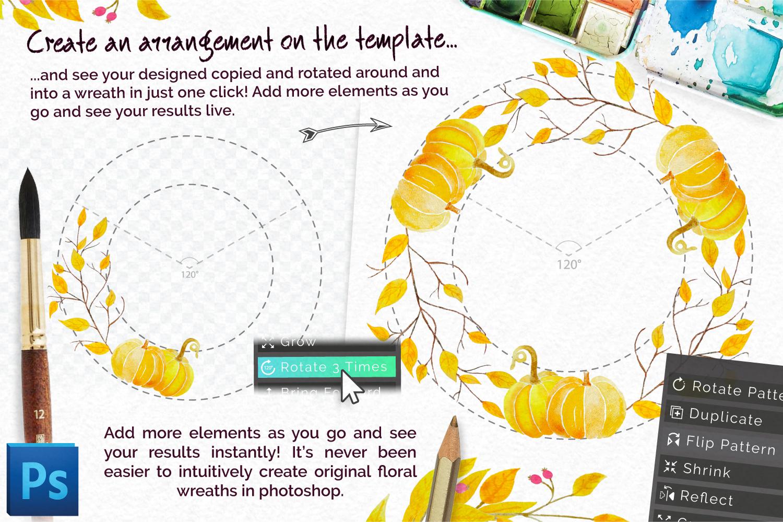 Autumn Wreath Creator example image 5