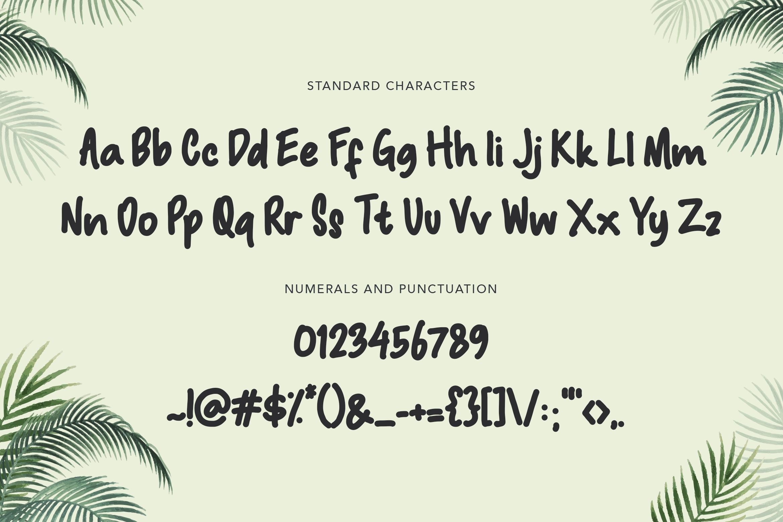 Macadamia Handwritten Font example image 9
