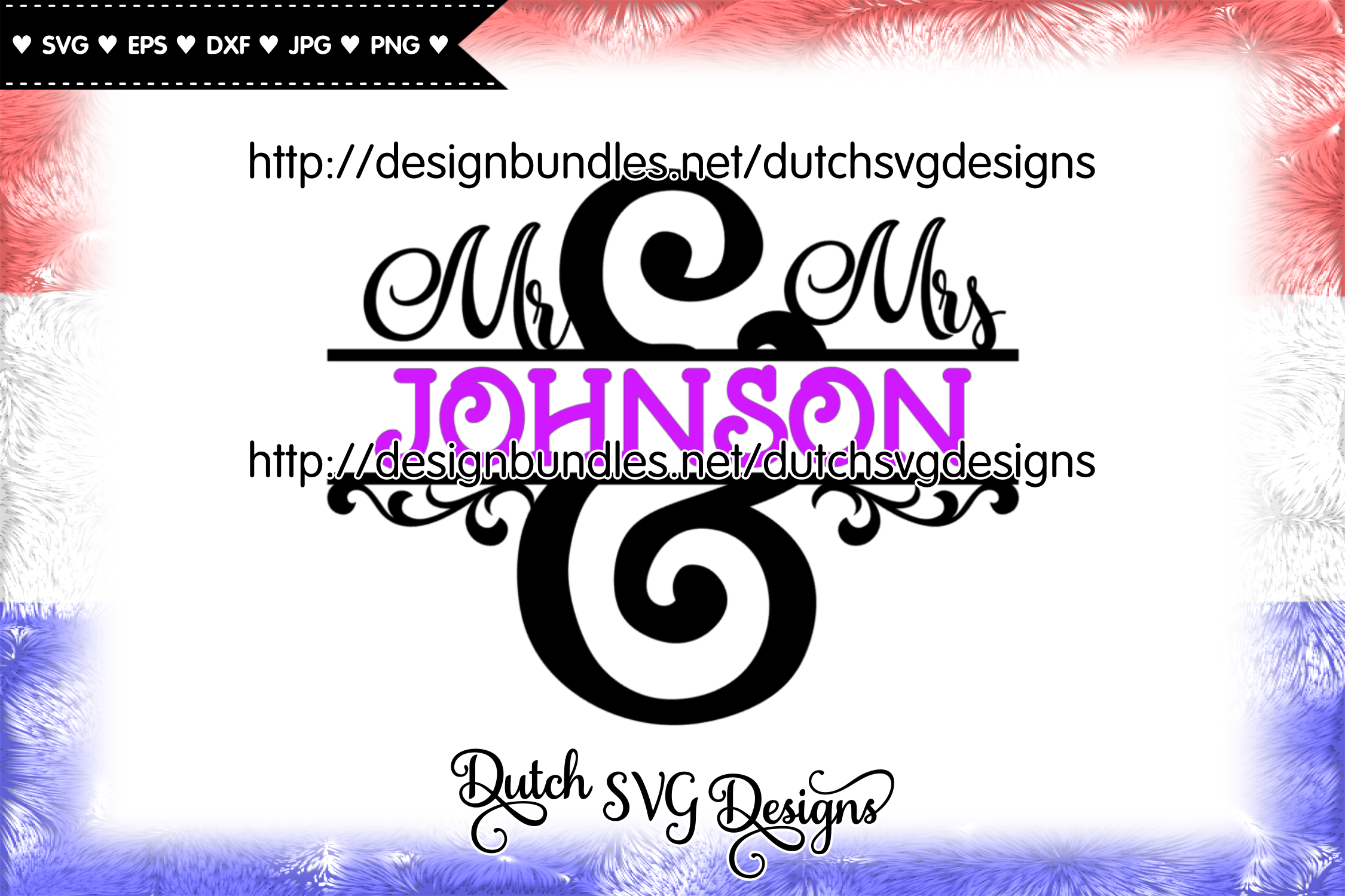 Split monogram Mr and Mrs cut file, mr & mrs monogram svg example image 3