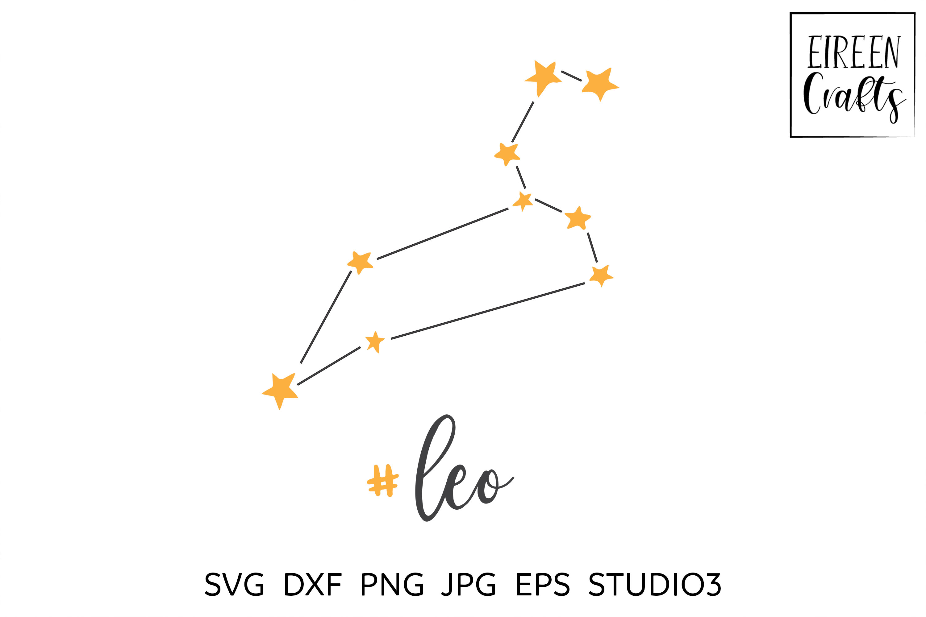 Zodiac SVG Bundle - Zodiac cut files for Cricut & Silhouette example image 6