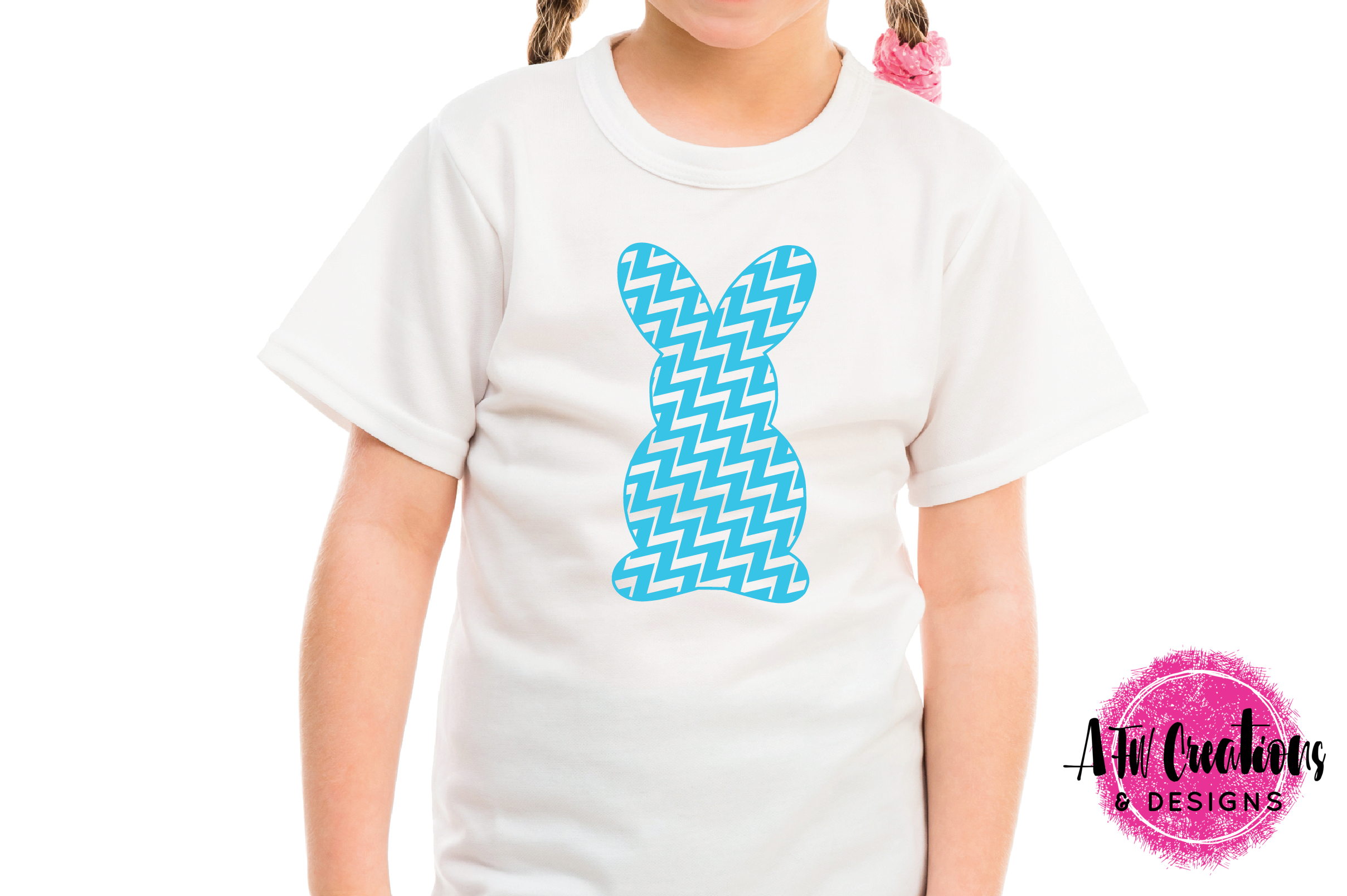 Pattern Easter Bunny Set - SVG, DXF, EPS Cut Files example image 3