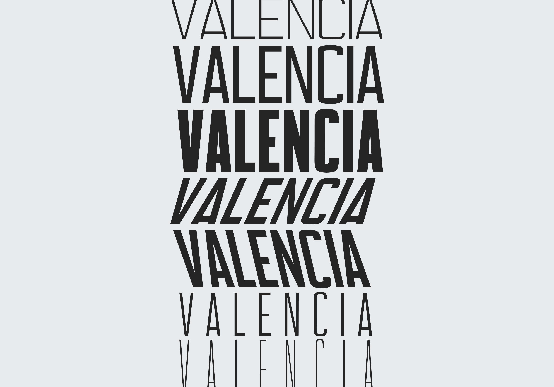 Valencia Font - Sans Serif - 10 Styles example image 9