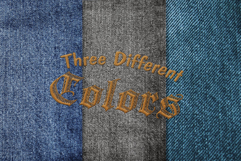 15 Denim Jean Fabric Textures JPG example image 8