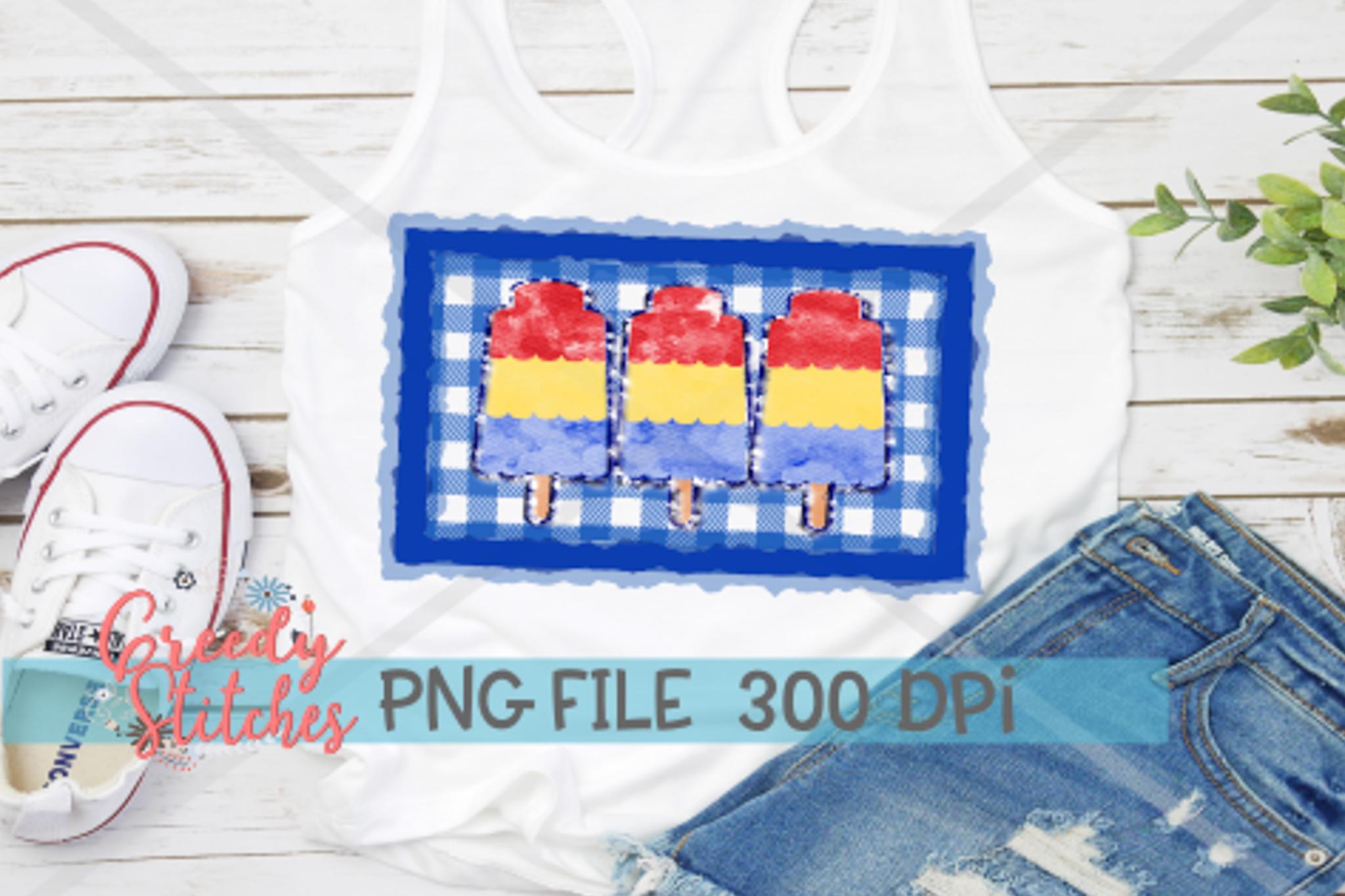 Popsicle Sublimation PNG Bundle example image 3