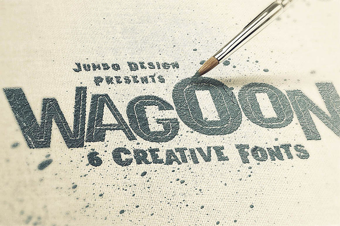 Wagoon - Funny Style Font example image 3