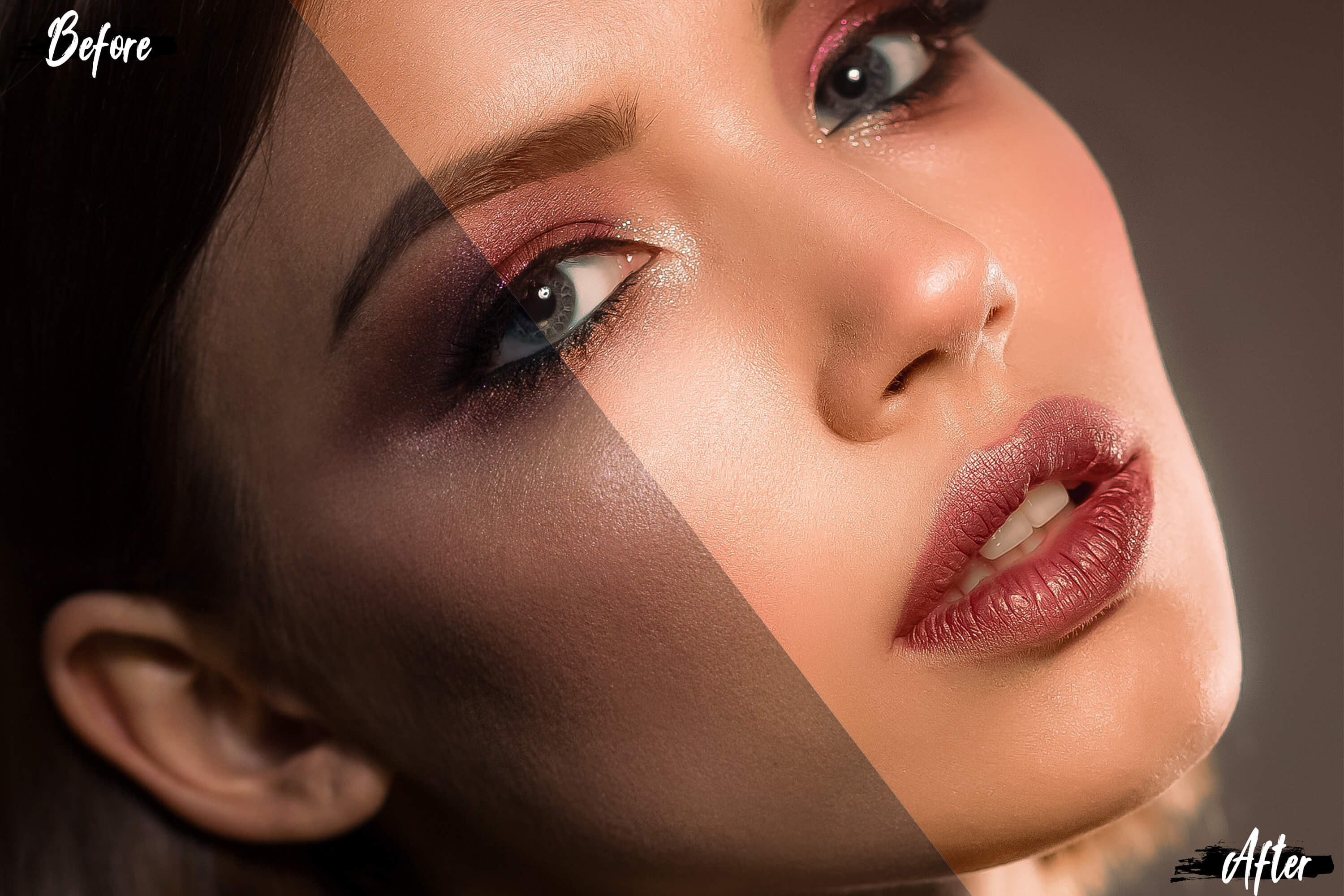 18 Perfect Skin Photoshop Actions, ACR and LUT presets